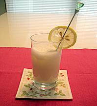 はちみつレモンミルク写真